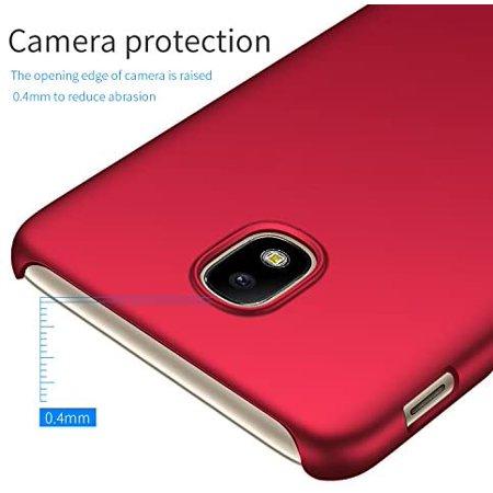 Kqimi Case for Samsung Galaxy J3 2018 [Ultra-Thin] Premium Material Slim Full Protection Cover For J3 2018/J3 Orbit/J3 - image 5 de 5