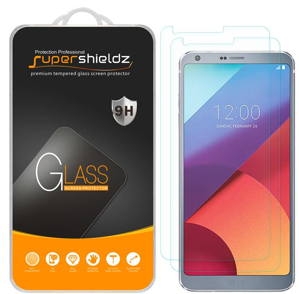 [2-Pack] Supershieldz LG G6 Tempered Glass Screen Protector, Anti-Scratch, Anti-Fingerprint, Bubble Free