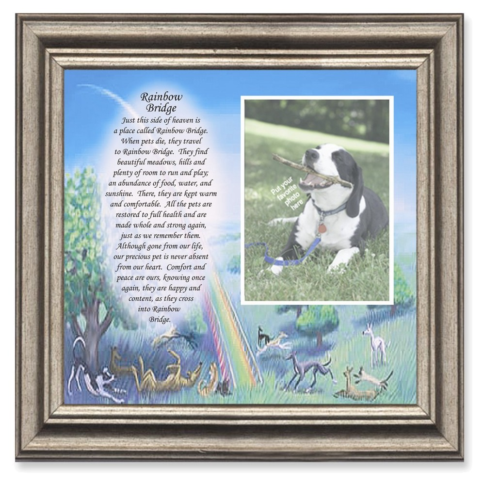 pet loss gifts pet memorials dog loss gifts Details about  /personalized pet frames