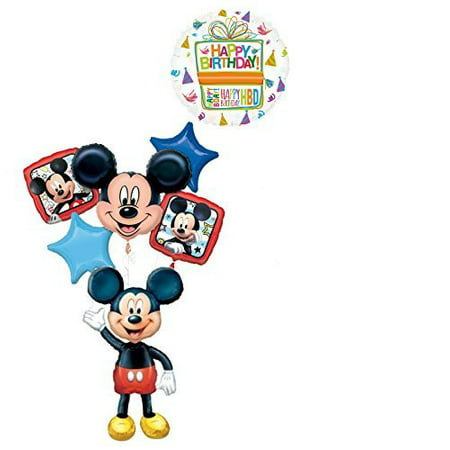 The Ultimate Mickey Mouse Airwalker Birthday Party Supplies - Mickey Mouse 1st Birthday Party Ideas