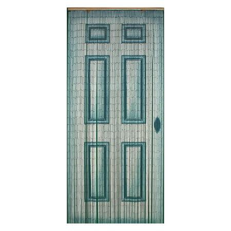 Bamboo54 White Door Bamboo Outdoor Curtain - Walmart.com on