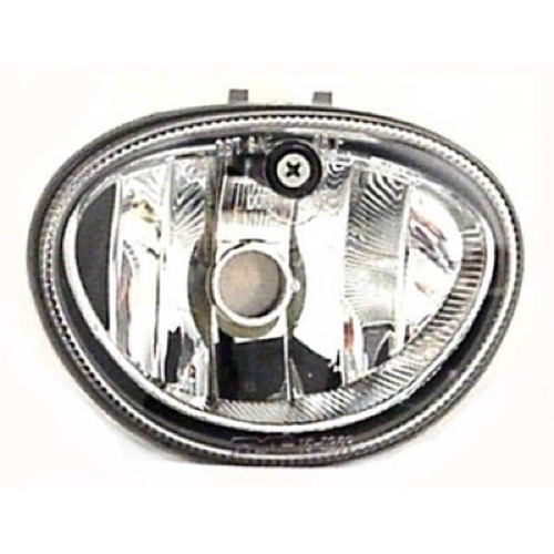 Compatible 1999 - 2004 Dodge Caravan Fog Light Lamp Assembly Replacement Housing / Lens / Cover - Right (Passenger) Side 4805046AC CH2590108 Replacement For Dodge Caravan