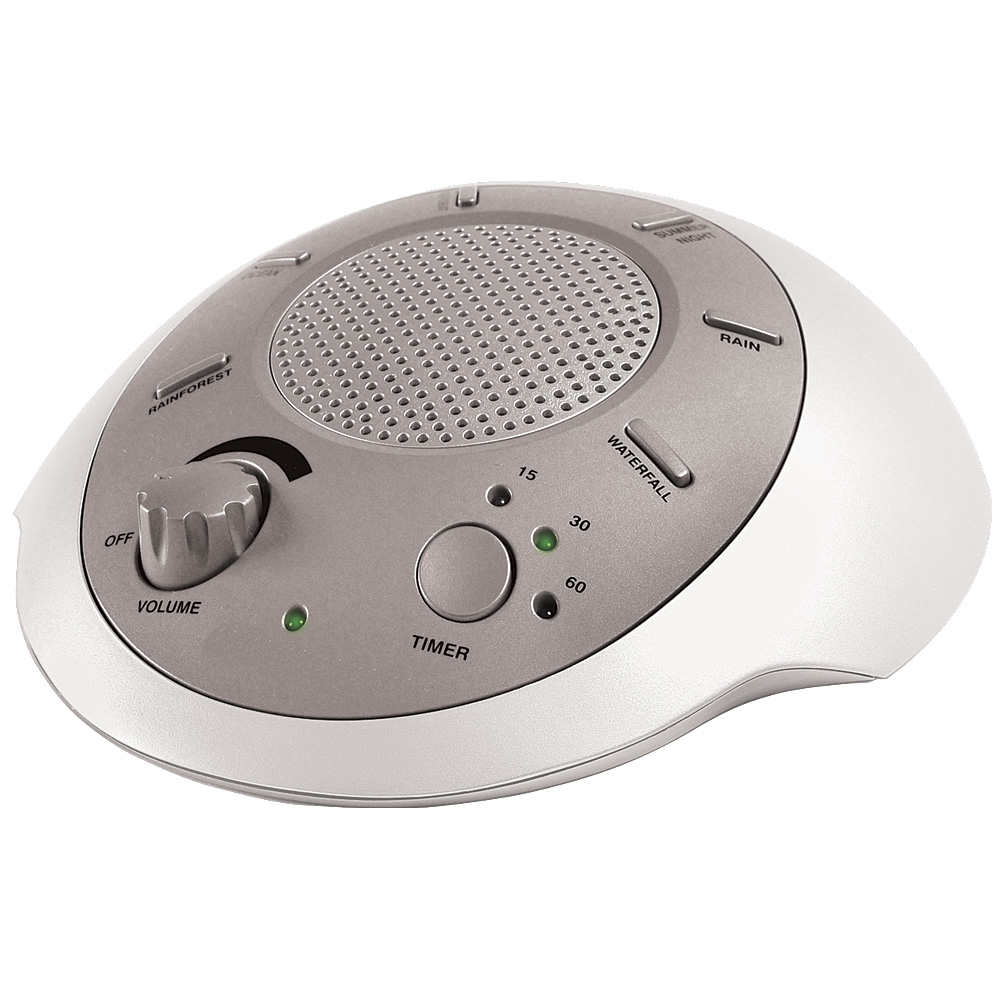 Homedics Nature Sounds Sleep Therapy Relaxation System 6 Different Settings