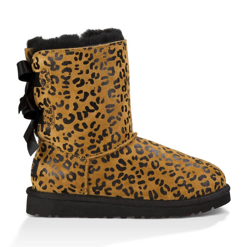 Ugg 1008217T - Toddler Bailey Bow Leopard 8 Toddler / Che...