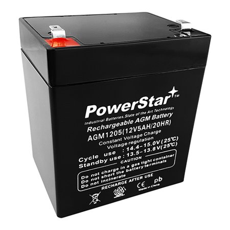 Replacement for Casil CA1240 12V 4AH First Alert ADT Alarm System UPGRADE Battery