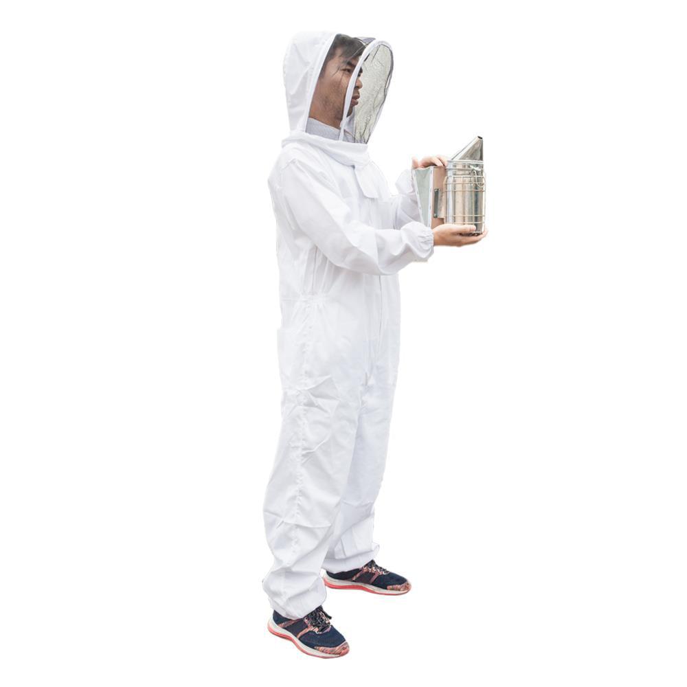 "11/"" Bee Hive Smoker with Heat Shield beekeeper Beekeeping Equipment Honey Keeper"