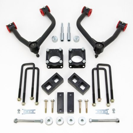 ReadyLift Suspension 07-15 Toyota Tundra SST Lift Kit 4.0in Front A-Arm 2.0in Rear Kit