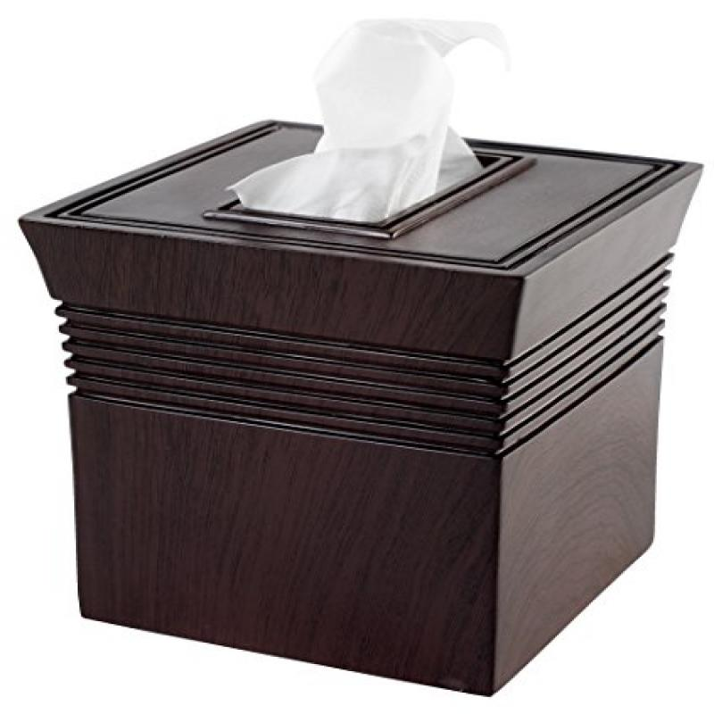 Focus Foodservice BS-VN9 Vienna boutique tissue box cover - Pack of 3