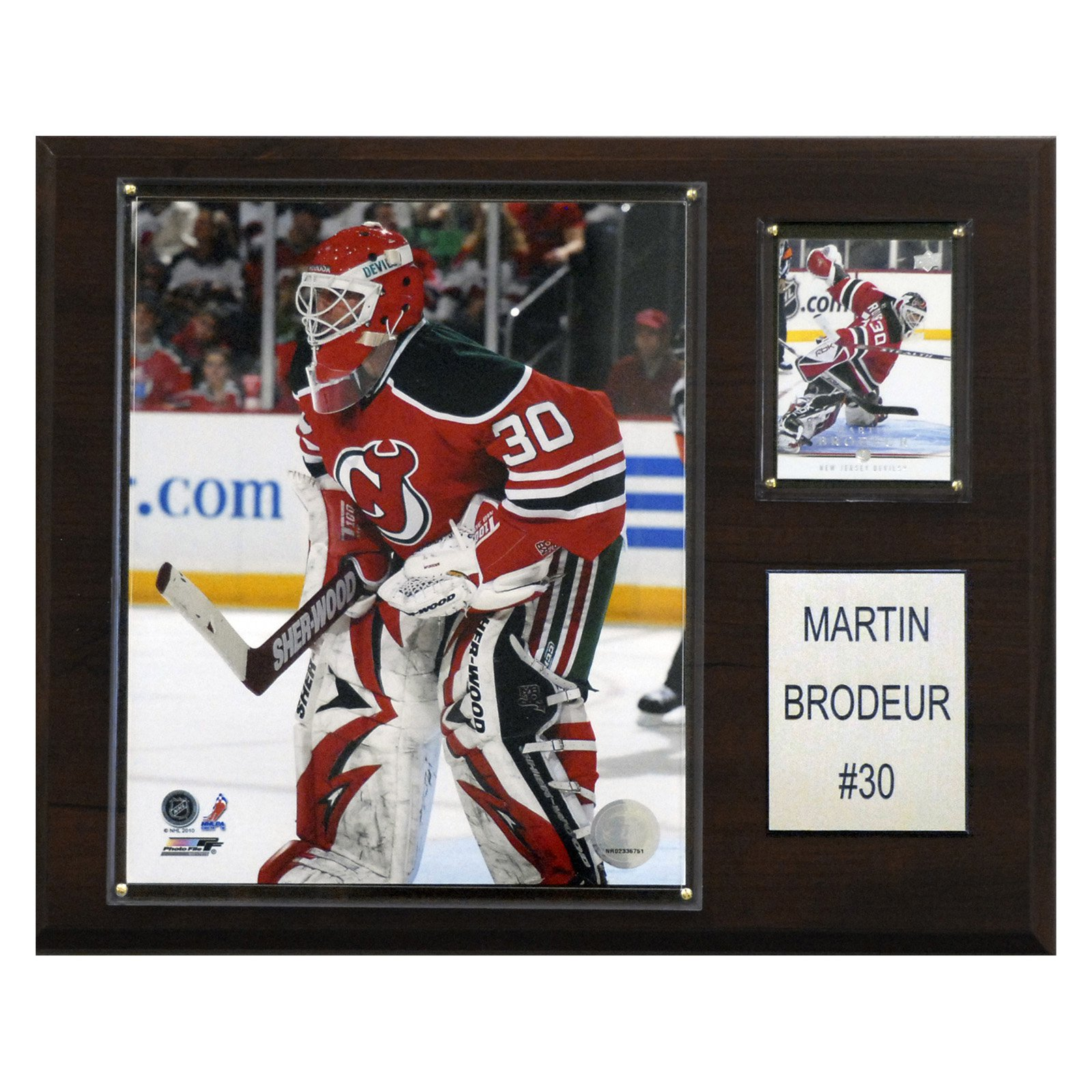 C&I Collectables NHL 12x15 Martin Brodeur New Jersey Devils Player Plaque