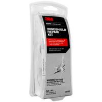 3M Windshield Repair Kit, Safe, No Mix, 08580SRP