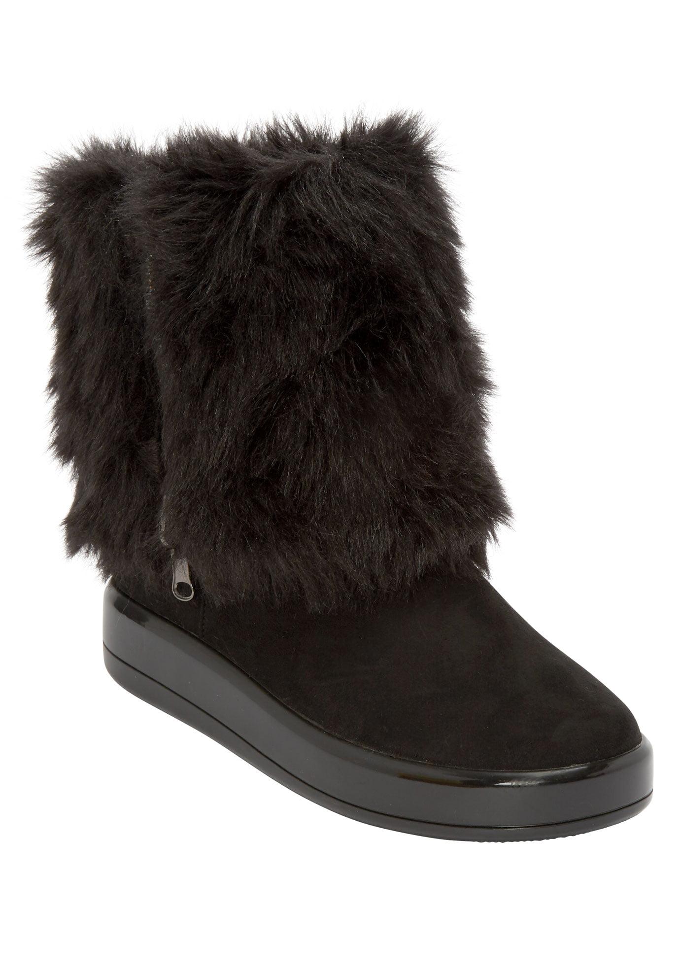 Black Comfortview Winter \u0026 Snow Boots