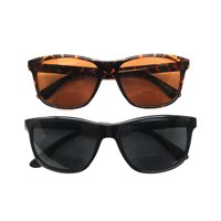 I.Image Men's Plastic 2-Pack Sunglass Readers (+1.75)