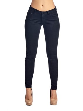 BLUEAGE Women's perfect fit well stretch Skinny Jeans and Ripped Denim