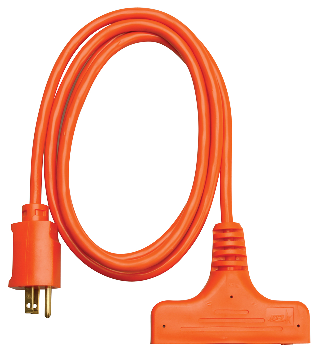 Coleman Cable 3 Way Power Block Tri-Source Multi-Outlets Extension Cord