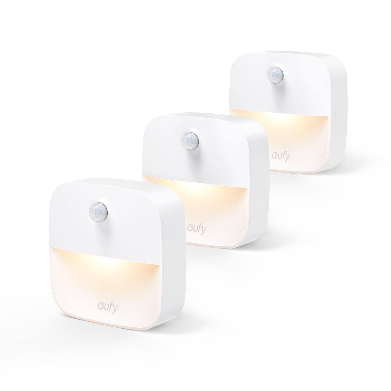 Eufy Lumi Stick-On Night Light 3-Pack by Anker