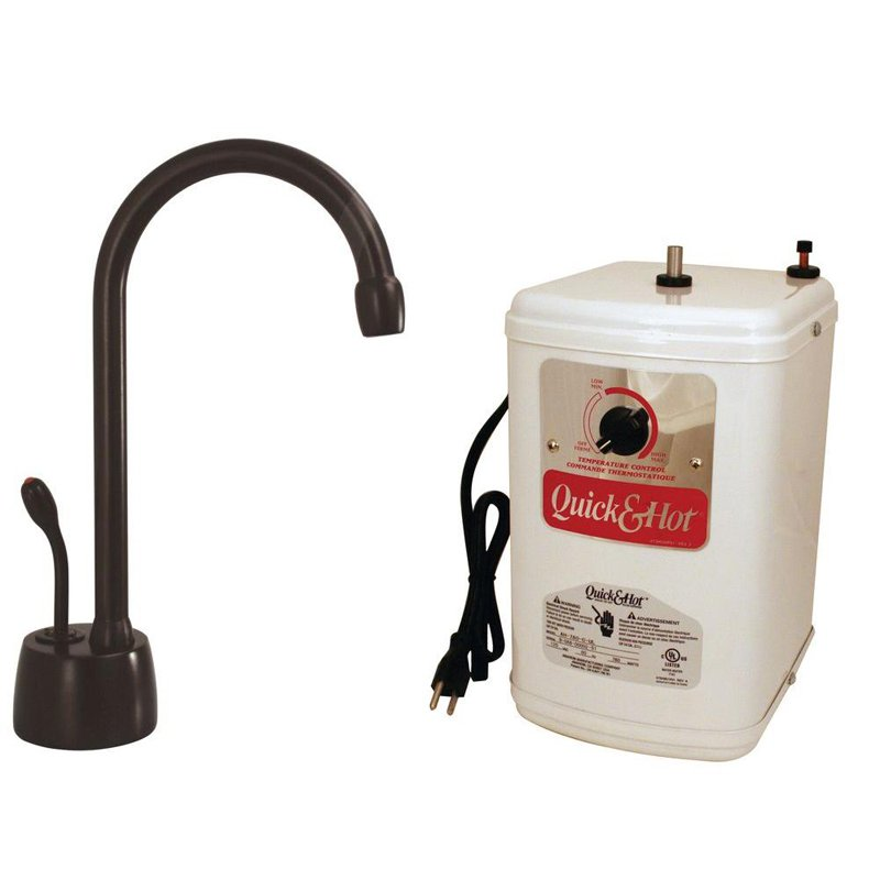 Single-Handle Hot Water Dispenser Faucet in Oil-Rubbed Bronze
