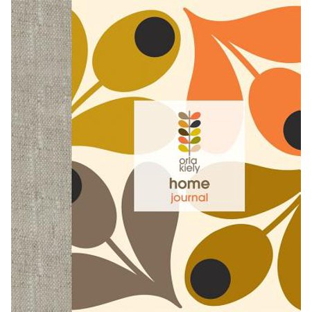 Orla Kiely: Home Journal (Orla Kiely Sunset Flora Hanging Wash Bag)