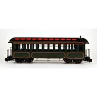 Bachmann G Scale Train (1:22.5) Unlettered Olive Passenger Car 89399