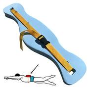 EVA Foam Aquatic Swim Floatation Belt Adjustable Safety Waist Belt for Swimming Beginners Children