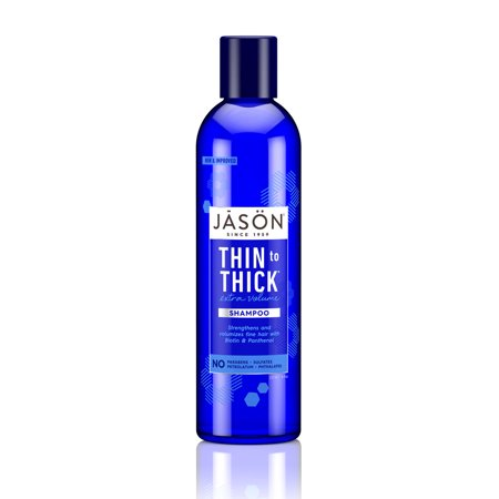 - JASON Thin-to-Thick Extra Volume Shampoo, 8 oz. (Packaging May Vary)