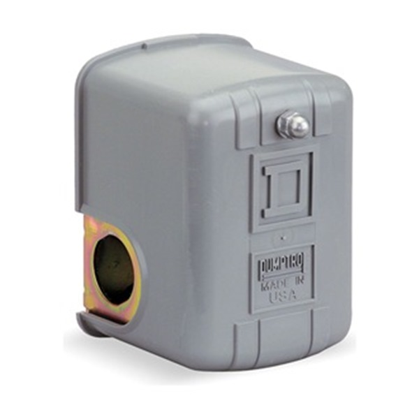 Pressure Switch, 60-80PSI, 1Port, DPST, 10A