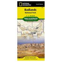 Trails Illustrated Badlands National Park: South Dakota, USA - National Geographic