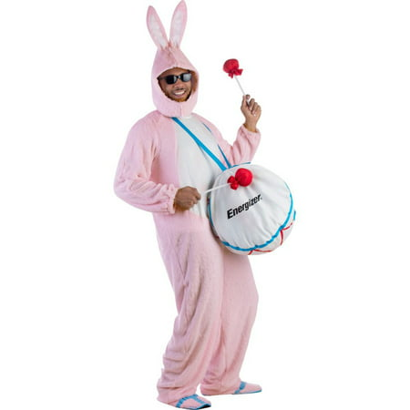 Bunny Costume For Men (Adult Energizer Bunny Costume - Size Up to)