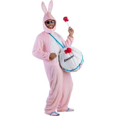 Adult Energizer Bunny Costume - Size Up to 64