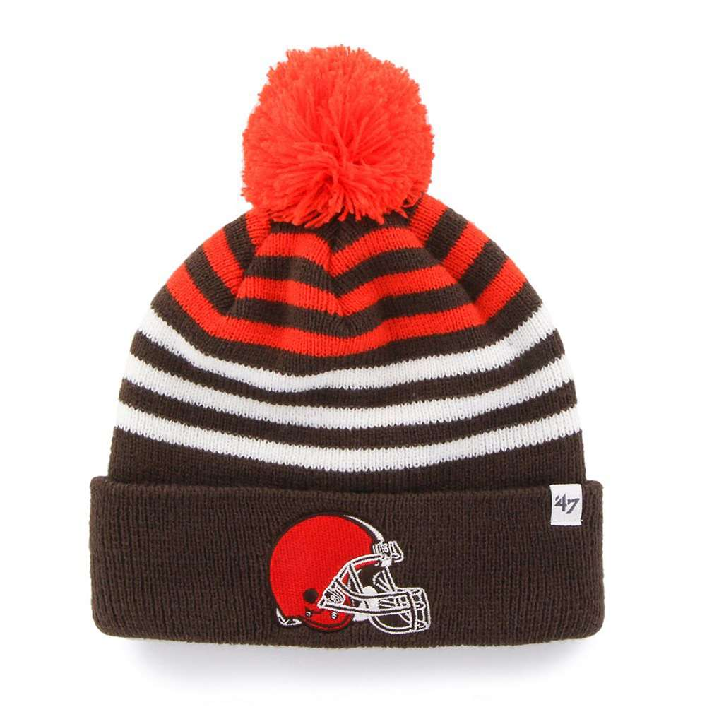 Cleveland Browns 47 Brand Youth NFL Yipes Cuff Knit Beanie by 47 Brand