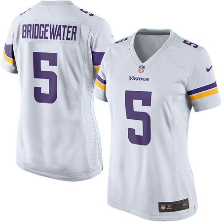size 40 04b75 7d4b9 Teddy Bridgewater Minnesota Vikings Nike Women's Game Jersey ...