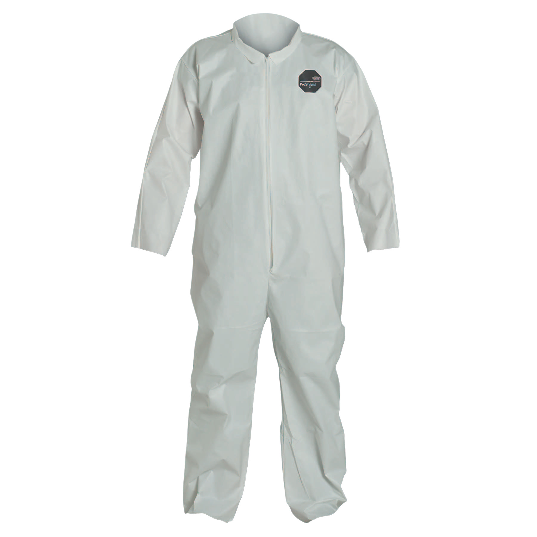 DuPont ProShield NexGen Coveralls, White, X-Large, With Collar by DuPont?