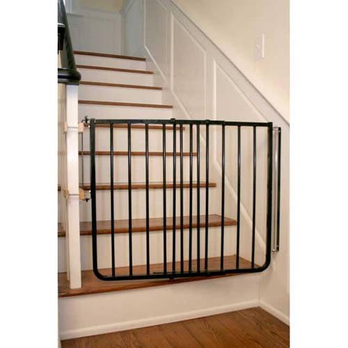 """Cardinal Gates Stairway Special Hardware Mounted Pet Gate, Black, 27"""" 42.5"""" x 29.5"""" by Cardinal Gates"""