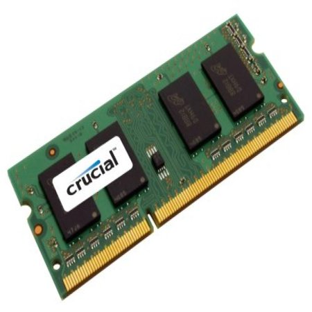 Crucial 2GB Single DDR3 1066 MT/s (PC3-8500) CL7 SODIMM 204-Pin Notebook Memory Module (Pin Sodimm Notebook Memory Module)