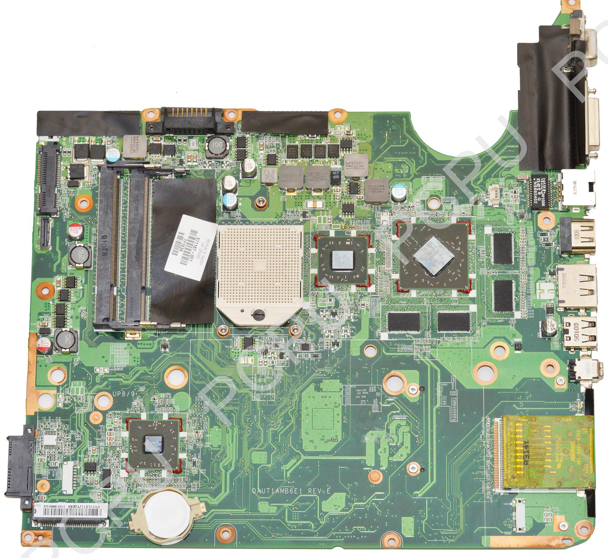 571187-001 HP DV6-2000 AMD Laptop Motherboard S1