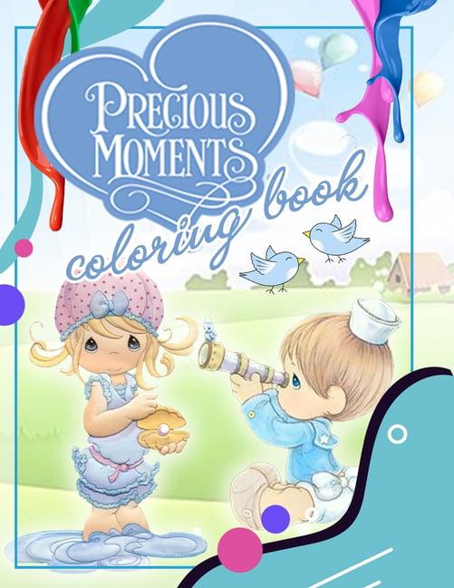 Precious Moments Coloring Book : Precious Moments Jumbo Coloring Book With  Premium Images For All Ages (Paperback) - Walmart.com - Walmart.com