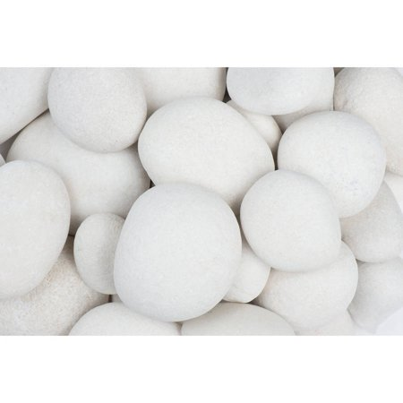 Margo 30 lb Large Caribbean Beach Pebbles, 3