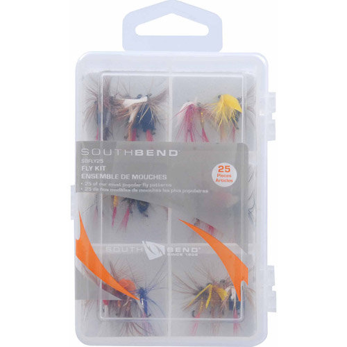 South Bend 25-Piece Fly Kit by Generic