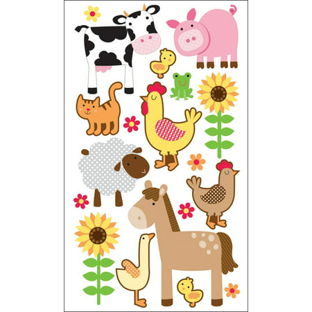 Farm Animal Stickers (Sticko Stickers-Farm Animals)
