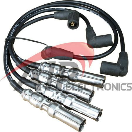 Brand New Performance Spark Plug Wire Set For 2001-2010 Volkswagen Beetle Jetta and Golf 2.0L Oem Fit PWJ117