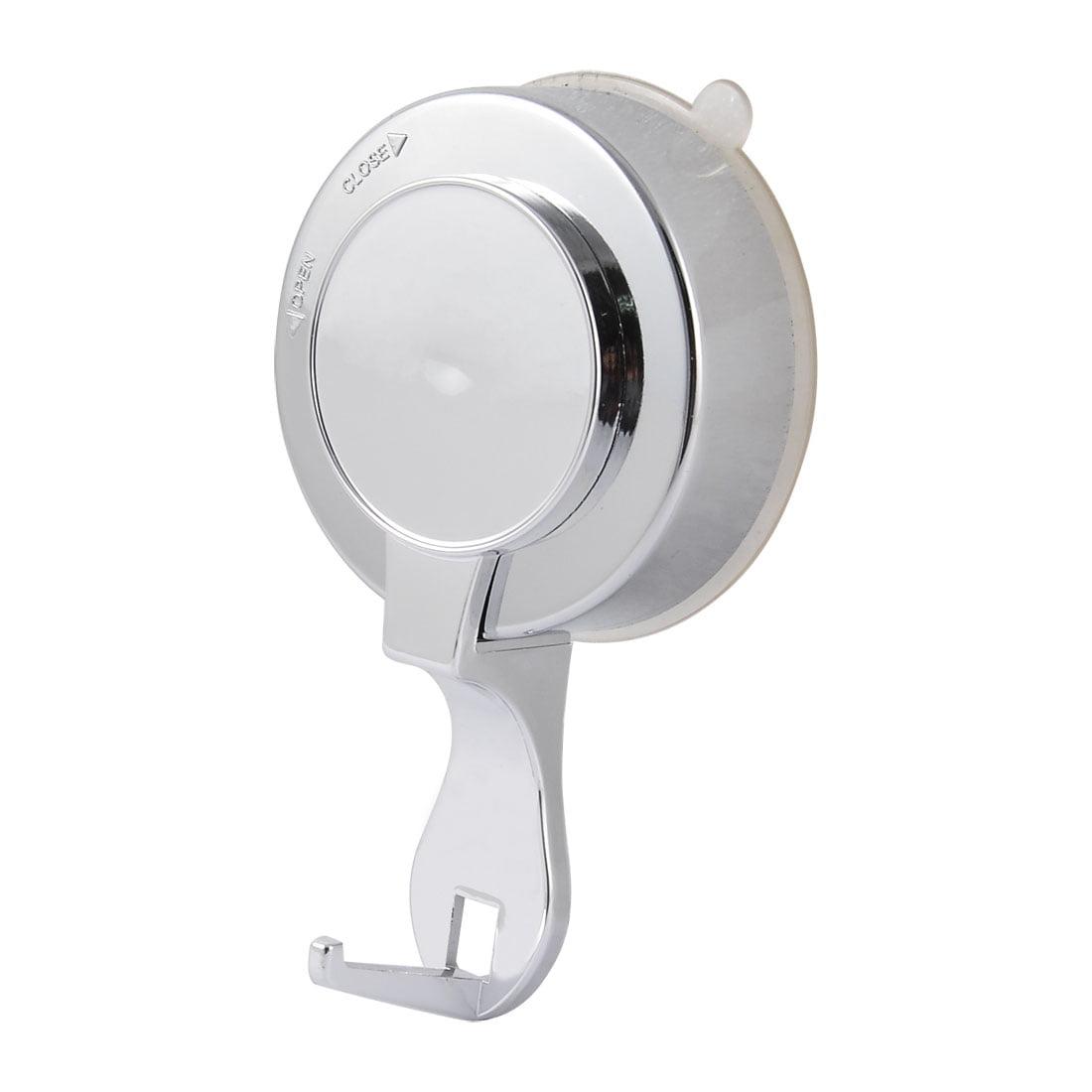 Unique Bargains Kitchen Household Plastic Lock Strong Suction Cup Single Hook Holder Hanger - image 3 of 3
