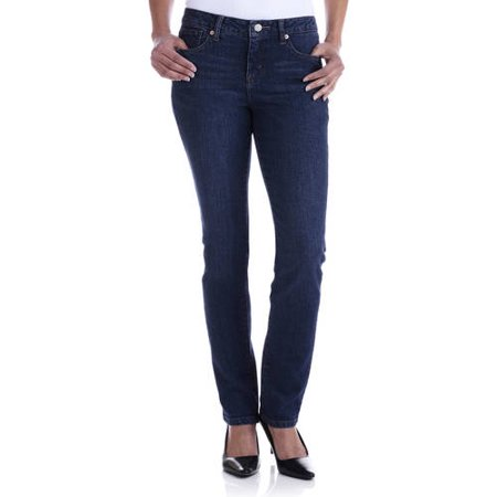 Faded Glory Women's Straight Leg Jeans Available in Regular ...