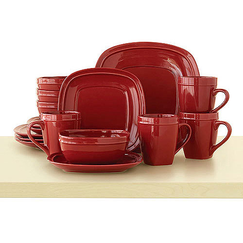 This button opens a dialog that displays additional images for this product with the option to zoom in or out.  sc 1 st  Walmart & Canopy Cranberry Red 16-piece Dinnerware