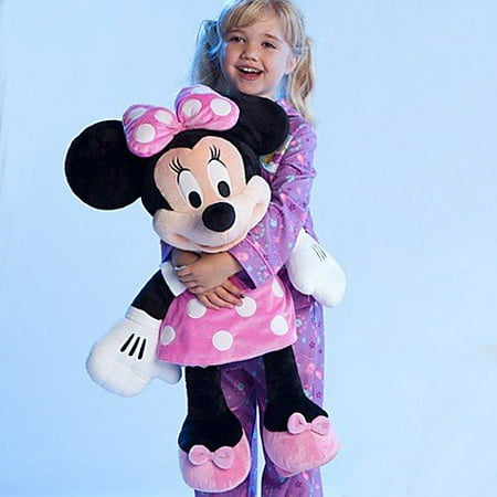 Disney Store Large/Jumbo 27 Minnie Mouse Plush Toy Stuffed Character Doll by Generic (Minnie Mouse Stuff)