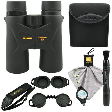 Nikon Prostaff 3S 10x42 Binoculars (16031) w/ Lens Pen, Cloth, Keychain