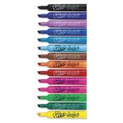Sanford Ink 1924061 Washable Markers, Chisel, Assorted Colors, 14 or Set