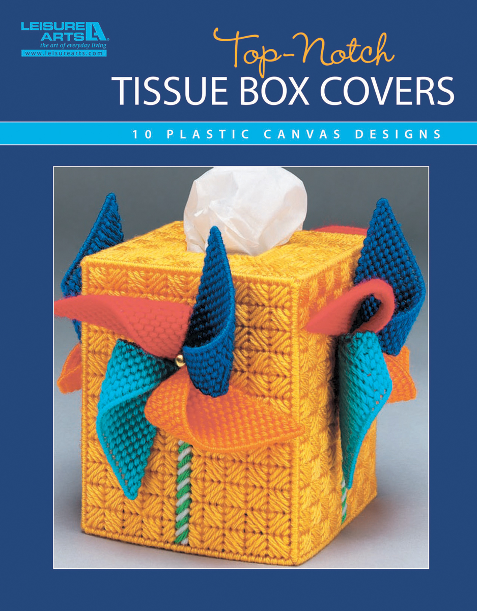 Leisure Arts-Top-Notch Tissue Box Covers