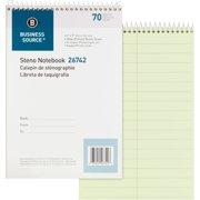 Business Source, BSN26742, Steno Notebook, 1 Each