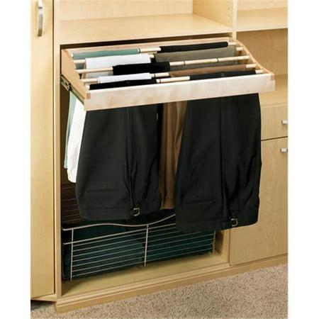 Rev A Shelf Rscwpr.3014.2 30 In. W Rev-A-Shelf Classic Pants Rack - Maple