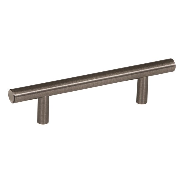 Bar Pulls 3 3 4 In 96 Mm Center To Center Gunmetal Cabinet Pull Walmart Com Walmart Com