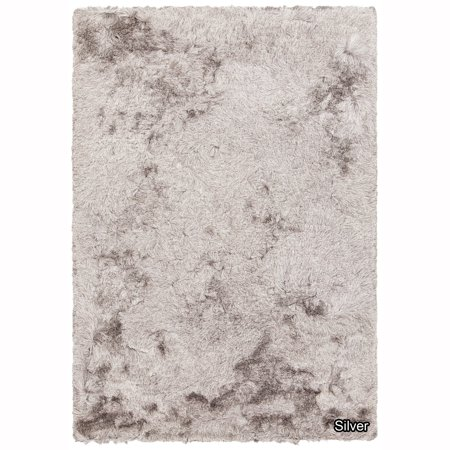 Artist Studio Collection Rug - Artist's Loom  Bloom Collection Hand-Woven Solid Pattern Shag Rug